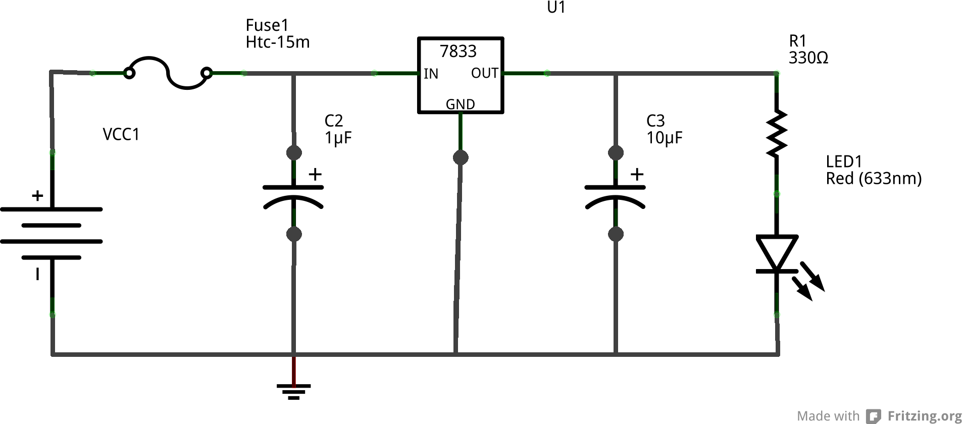 Csci 255 Using A Breadboard Our Voltage Regulator Schematic Task 2 The 0s And 1s