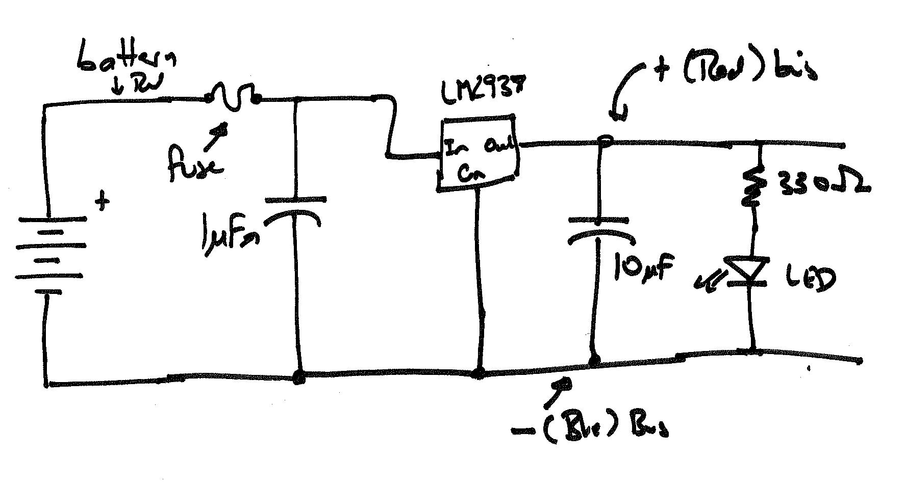 Regulator Schematic Symbol Wiring Diagram For Light Switch